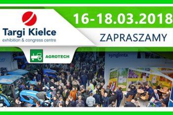 Targi Rolnicze AgroTech Kielce 2018