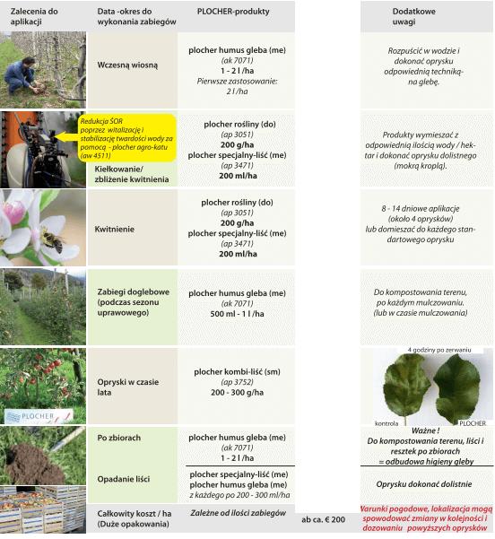 plany dla sadowników